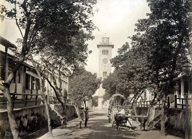 Image result for clock tower sri lanka 1894 lankapura