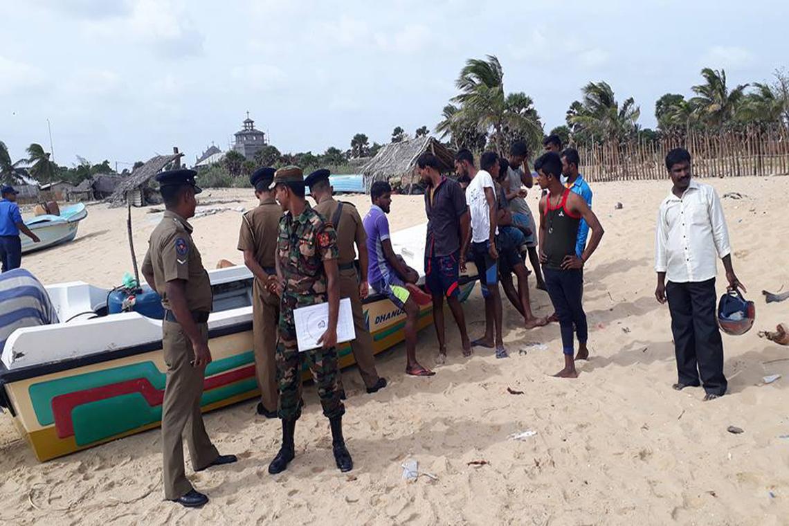Jaffna fisherman