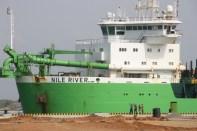 Nile River in Hambantota harbour
