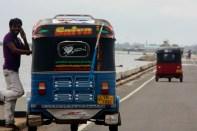Tuk-tuk, Jaffna causeway