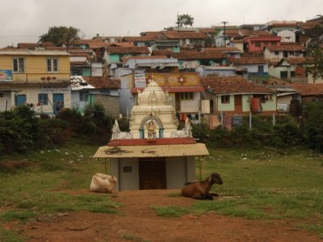 Hindu shrine near Kotagiri India