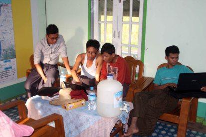 Loka Ahlinn project team