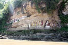 Buddhist cliff sculptures