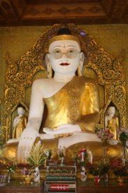 Bespectacled Buddha, Shwe Myet Man Pagoda