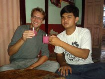 Drinking rice wine in Taunggyi