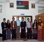 With Parami network and Pa'O flag