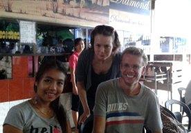 With our Teacher, Lwin Pyu