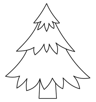 Molde de árvore de Natal 3