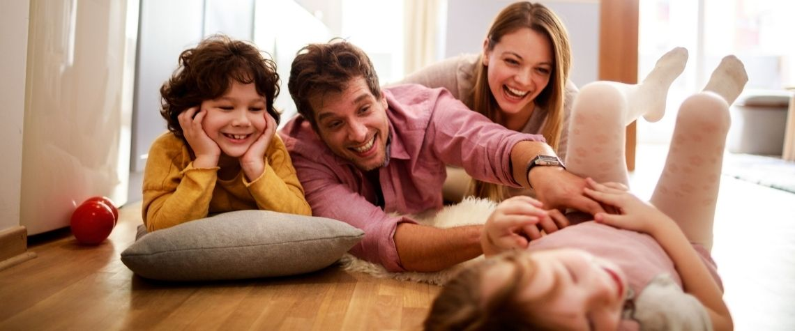 Tempo de qualidade para brincar com filhos