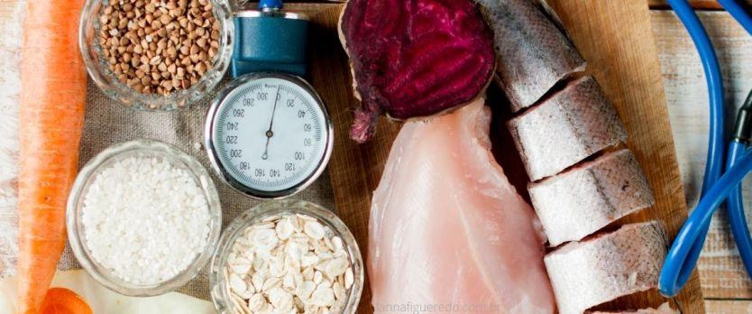 Alimentos para pressão alta - hipertensão