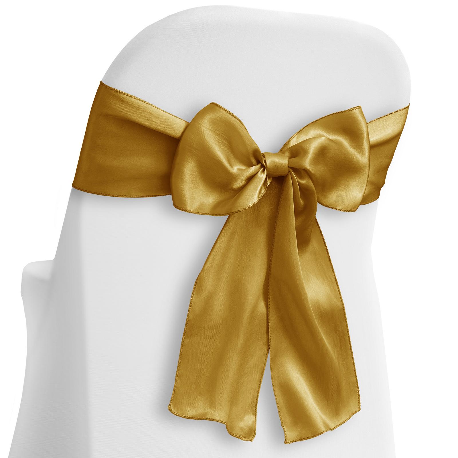 Lann S Linens 10 Elegant Satin Wedding Party Chair Cover