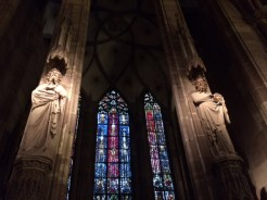 Inside the Cathédrale