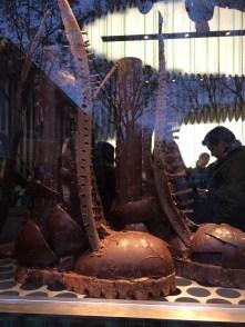 giant chocolate shoe