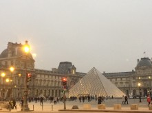 Drive-by (walk-by) of the Louvre