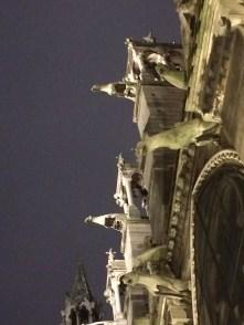 Notre Dame gargoyles