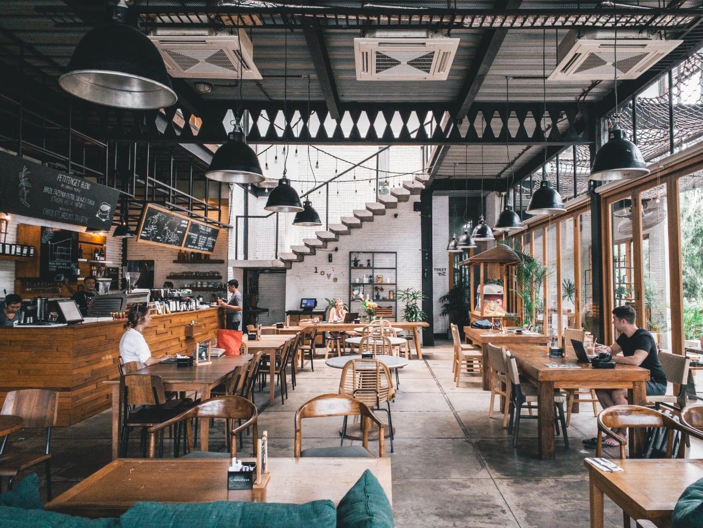 Restaurant quasiment vide