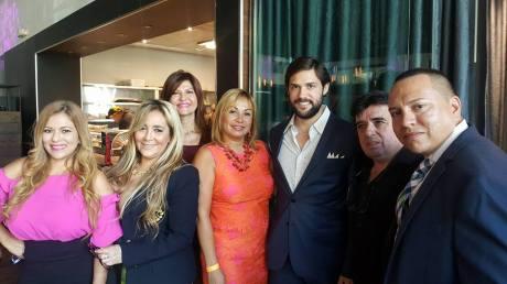 Alexia Ramirez, Marisol Casola, Maricarmen Sega, Marybel Torres, Alfred Santamaria, Luis Miguel Fernandez y Derick Toro
