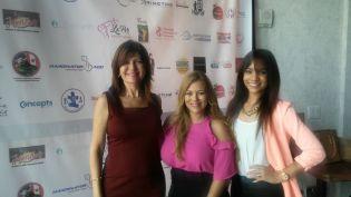 Marybel Torres, Alexia Ramirez y Wendy Regalado