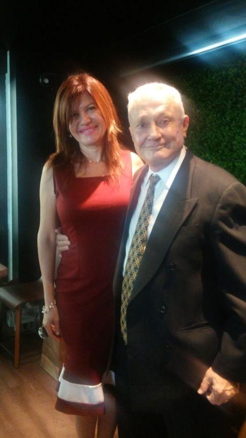 Marybel Torres y Guillermo Descalzi