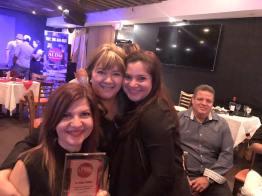 Marybel Torres, Roxana Corcuera y Rochy Cantillo