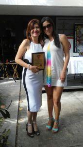 Marybel Torres, CEO de la Nota Latina y su sobrina Lesbia Rodriguez