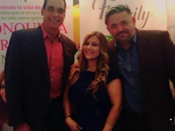 Albert Collazo, Alexia Ramírez y José Guerrero.