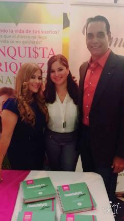 Alexia Ramirez, Rochy Cantillo y Albert Collazo.