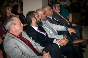 Autoridades del Sistema Educativo Ana G. Méndez y el Cónsul General Adjunto de España.