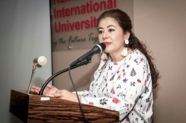 Pilar Vélez, presidenta de Mi Libro Hispano Org.
