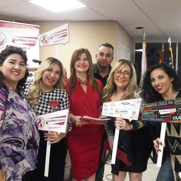Viviana Cantillo, Yolanda Pérez Martínez, Marybel Torres, Ahmed David Montero, Marisol Casola y Melina Almodóvar.