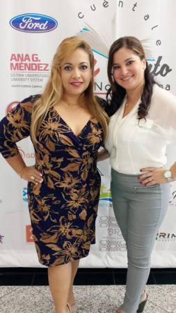 Leidy Baldó y Rosana Cantillo.