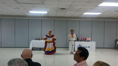 evento pilar bailarines