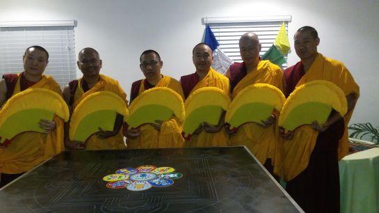 Monjes budistas construirán mándala y realizaran cánticos por la Paz de Venezuela