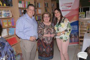 Armando Morales, Dania Hernandez y Rosana Cantillo