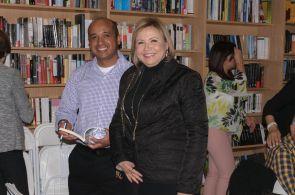 El escritor Anibal Anaya y la pintora Margarita Barroso