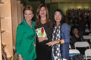 Margaret Romero, Marybel Torres y Marisela Toro