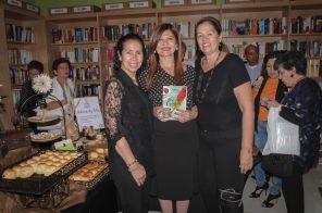 Liliana Bignes, Marybel Torres y Martha Pacheco