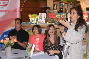 Pilar Vélez durante su intervención
