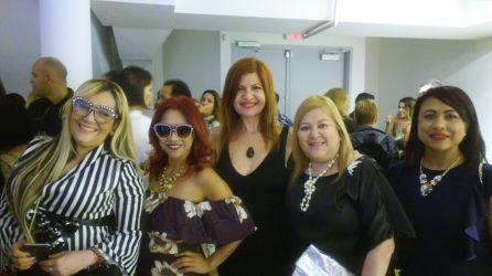 Marisol Casola, Leida Alvarez, Marybel Torres, Roxana Corcuera y Yaniris Felipe