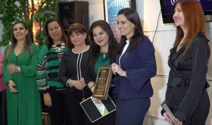 Gabriela Torrente, Carmen Gallardo, Alma Stevenson, Rosana Cantillo, la Vicegonernadora Jeanette Nunez y Marybel Torres