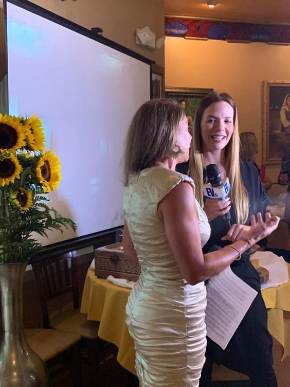Gina Tinoco es entrevistada por el Venezolano Tv