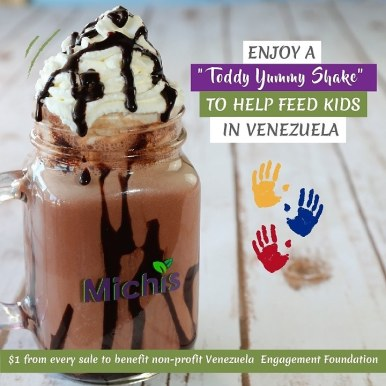 Michelle Posada y Venezuelan Engagement Foundation se unen para apoyar a los niños venezolanos