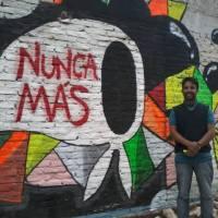 La Paz: restauraron mural por el día de la Memoria