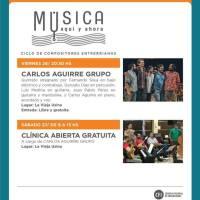 Carlos Aguirre Grupo en el Centro Cultural La Vieja Usina