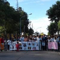 Santa Elena: gran movilización por Gisela López