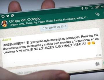 WhatsApp batalla contra los mensajes en cadena y el spam