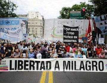 Marcha por Milagro Sala, a dos años de su arresto