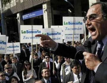 Concluyó el paro bancario con un 100% de acatamiento en Tucumán