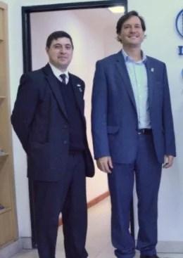 El Directo Julio M Agnello y el Presidente Javier Ibáñez
