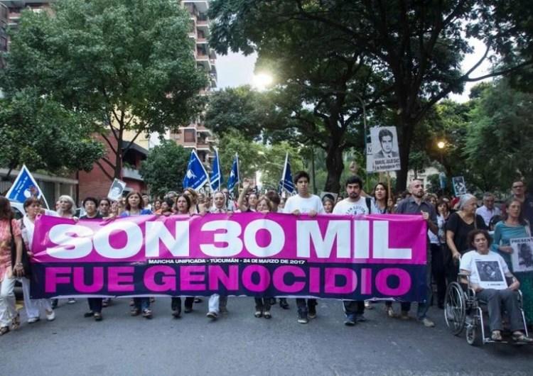De espalda a la Casa de Gobierno, Tucumán dirá Nunca Más